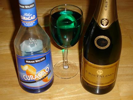 Blue Curacao Champagne Cocktail Recipes