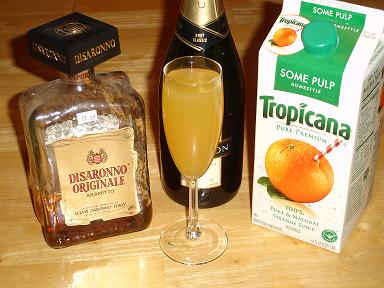 Amaretto Champagne Cocktail Recipes