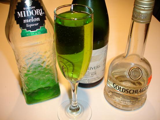 Goldschlager Champagne Cocktail Recipes