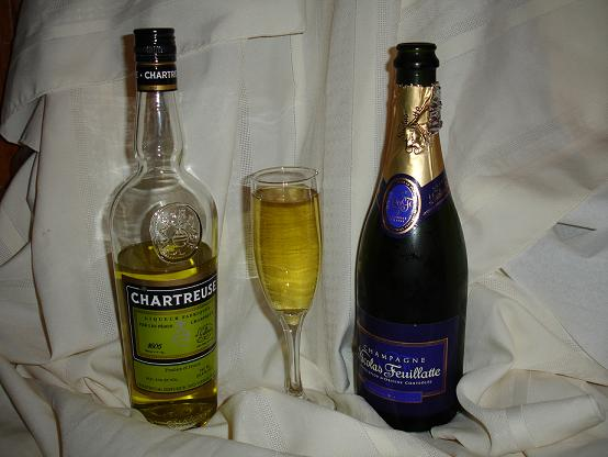 Chartreuse Champagne Cocktail Recipes
