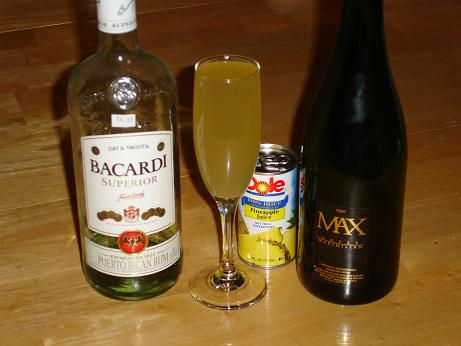 Rum Champagne Cocktail Recipes