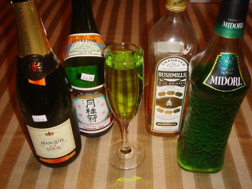 Sake Champagne Cocktail Recipes