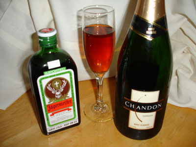 Jagermeister Champagne Cocktail Recipes