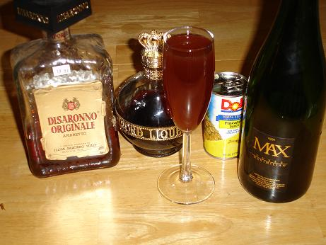 Brown Champagne Cocktail Recipe