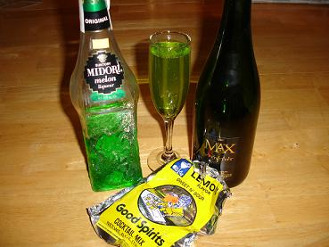Midori Champagne Cocktail Recipes