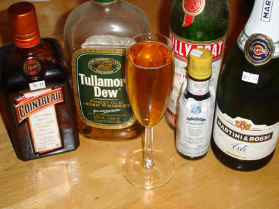 Whiskey Champagne Cocktail Recipes