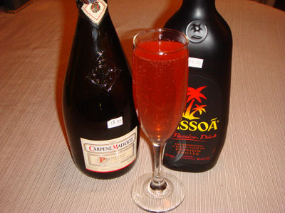 Passoa Champagne Cocktail Recipes