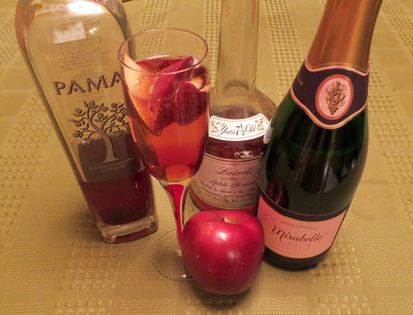 Apple Brandy Champagne Cocktail Recipes