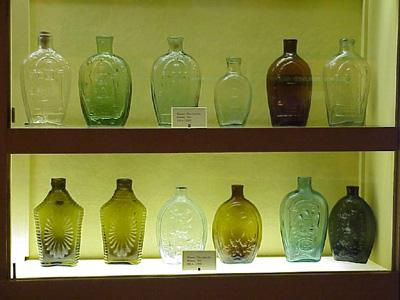 Old Sturbridge Village Glass Flasks 46