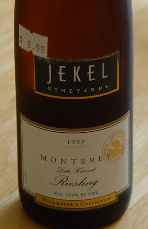 Californian White Wine Bottle Labels