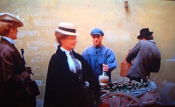 Chianti Scene in Movie