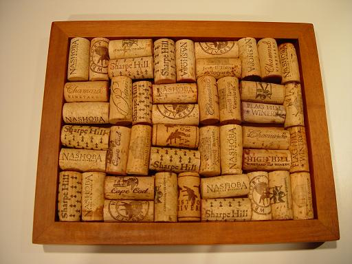 Make a trivet out of used wine corks