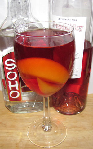 Imperial Peach Sangria Recipe