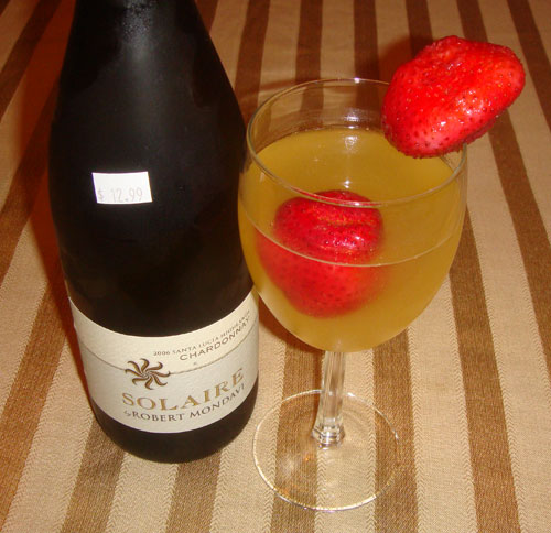 Strawberry Ginger Sangria Recipe