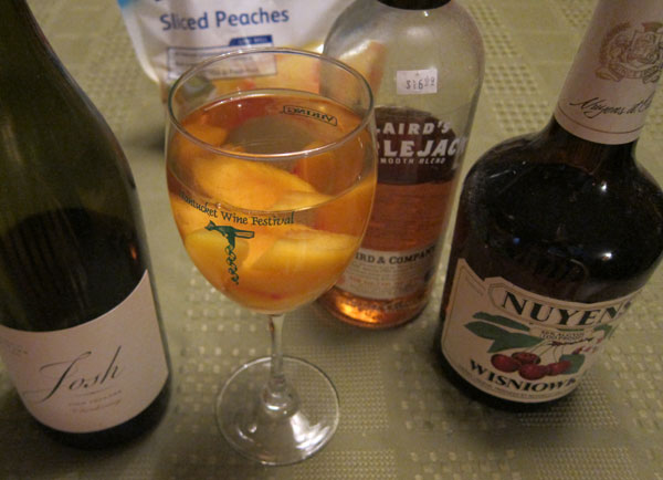 how to make white sangria by the glass